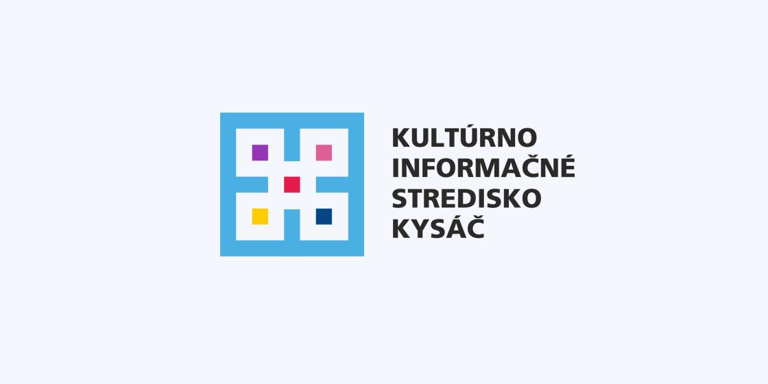 Kultúrno Informačné Stredisko Kysáč Logo