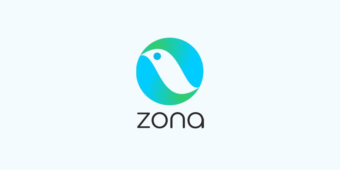 Tvorba loga Zona