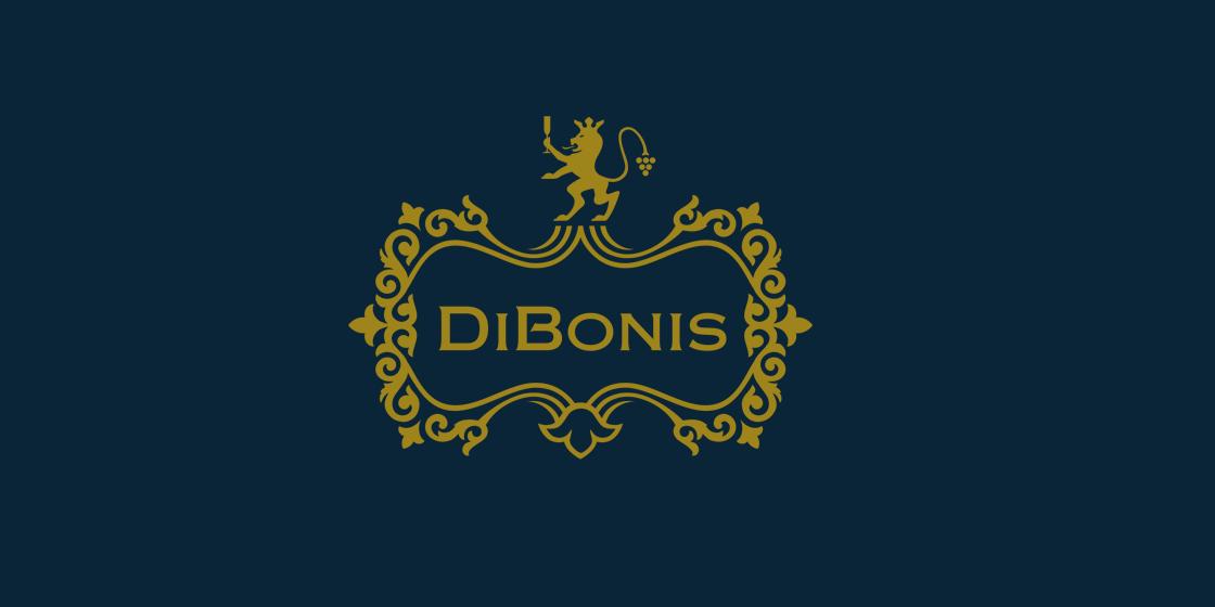 Logo dizajn pre vináreň DiBonis